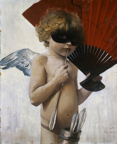 Franz Von Stuck. Cupid at The Masked Ball