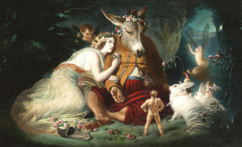 Edwin Landseer. A Midsummer Night's Dream