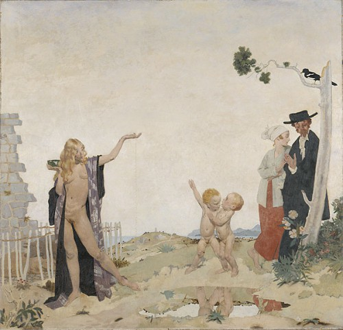 William ORPEN. Sowing new seed