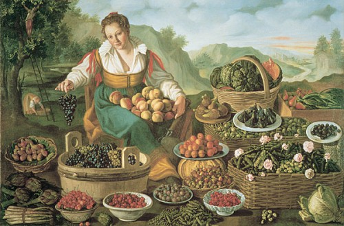 vincenzo campi, the fruitseller